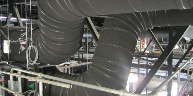 High Level Ductwork (Acoustic Insulation)