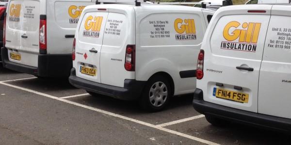Gill Insulation Vans